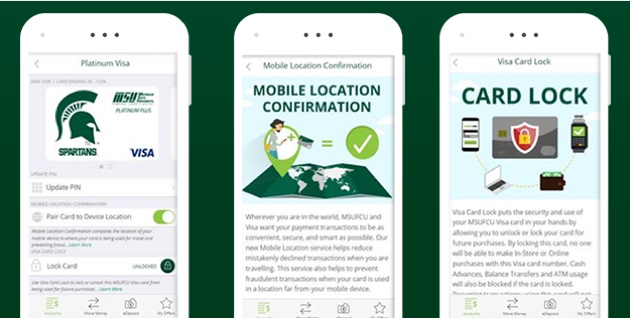 Michigan State University mobile app image