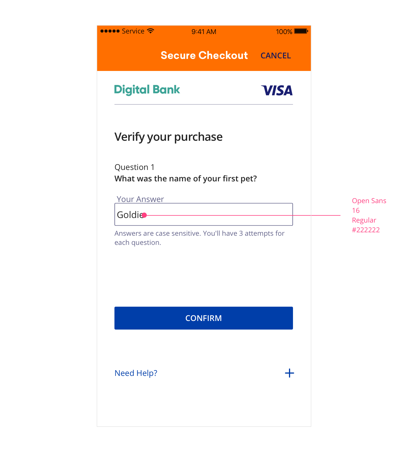 Visa Secure using EMV 3DS User Experience Guidelines
