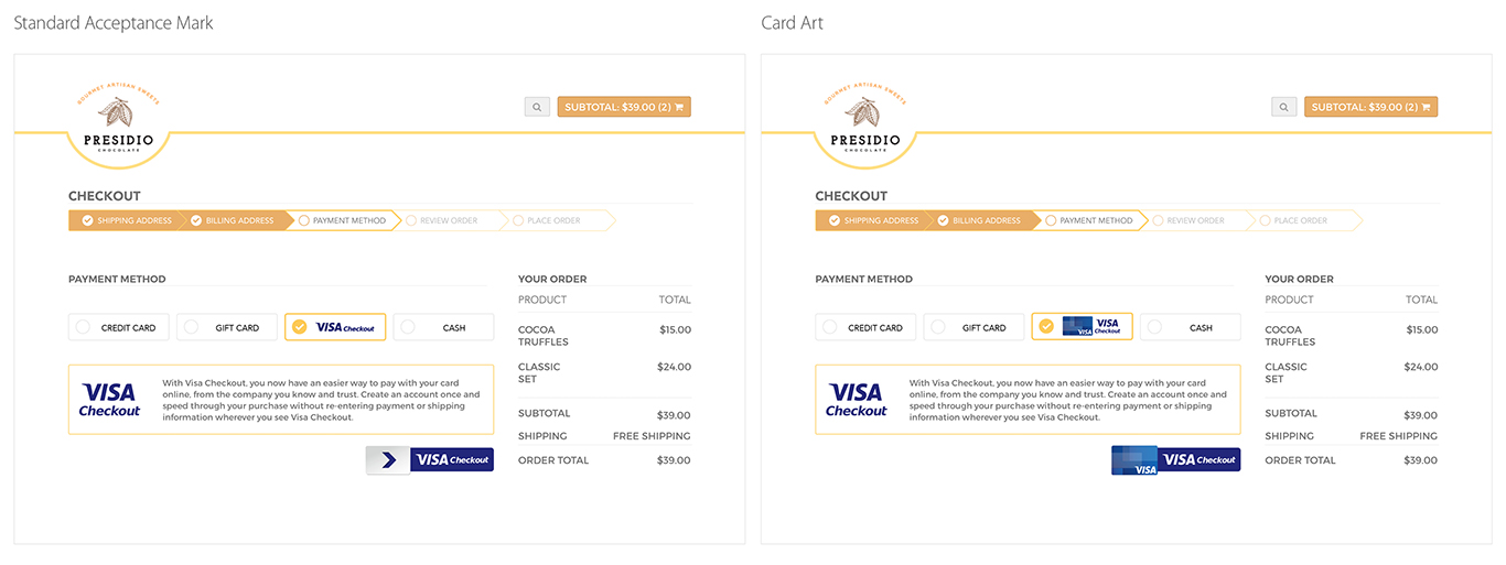 Visa checkout visa developer center the base url is httpsassetscureeckoutsavcoimages it is followed by the g graphic for example altavistaventures Choice Image