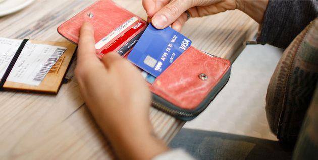 Wallet shopping with Visa