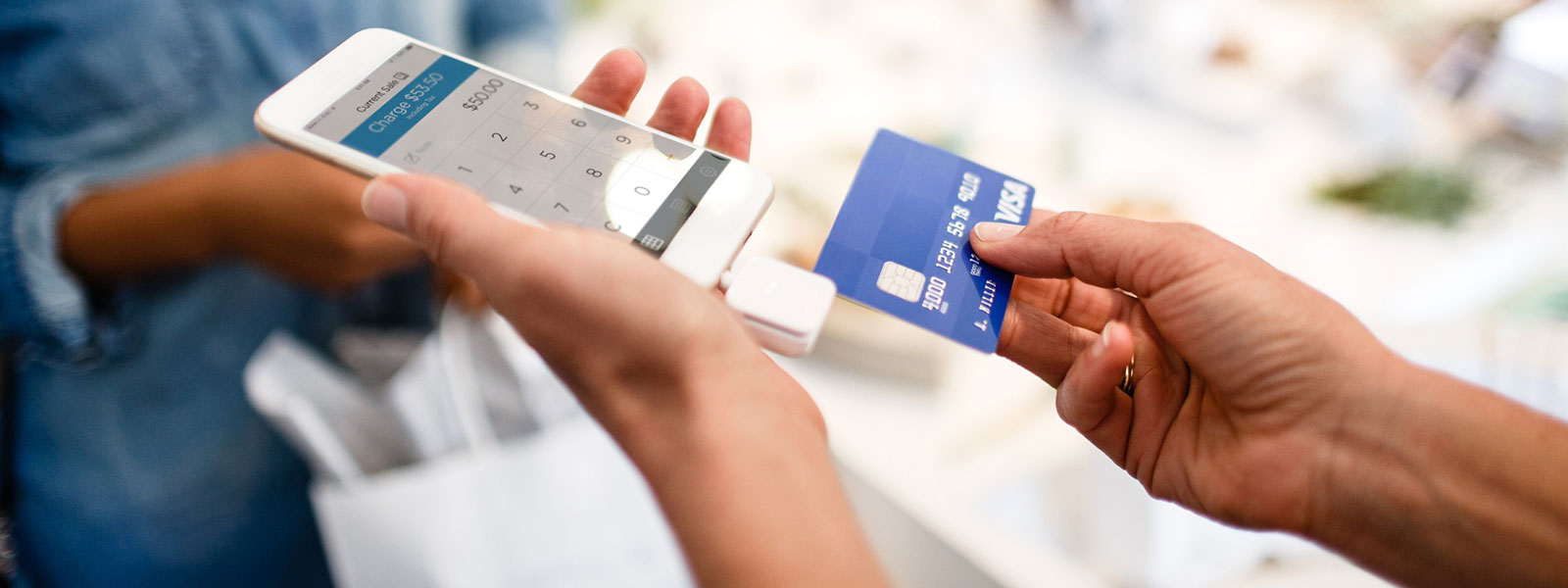 mobile payments using credit card