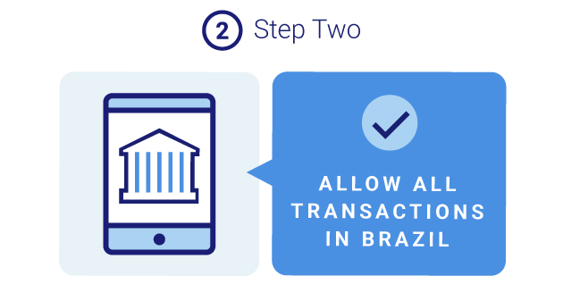 Allow Transactions in Brazil